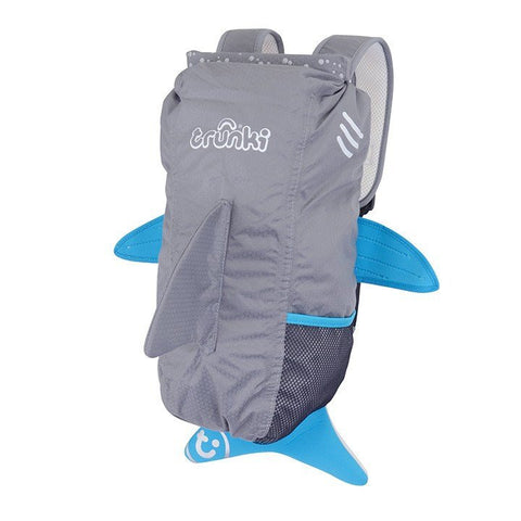 Trunki Shark HK Paddlepak Grey Jaws Fin the Shark - BabyPark HK
