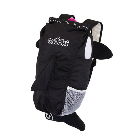 Trunki Whale HK Paddlepak Black Willy Kaito Killer Whale - BabyPark HK