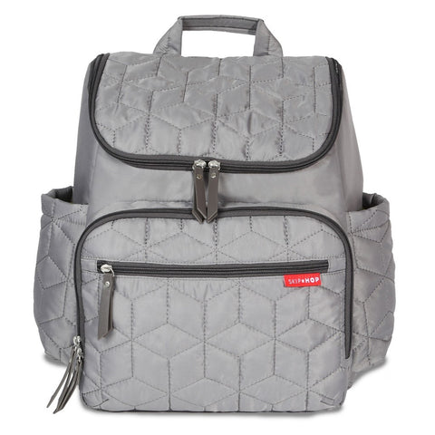 Skip Hop Forma Grey HK Diaper Backpack