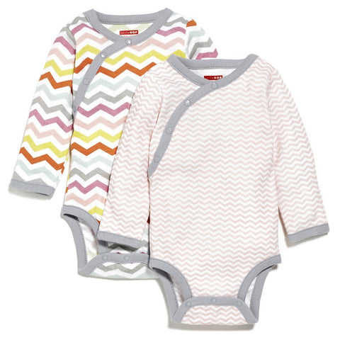 Skip Hop HK Sale: Side-Snap Long Sleeve Body Suit - BabyPark HK - 1