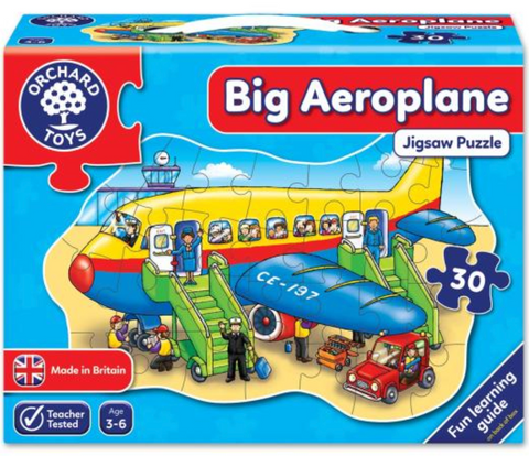 Orchard Toy HK Sale FP 30P Big Aeroplane
