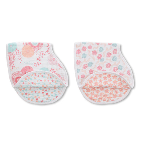 Aden and Anais Hong Kong Tea Global Garden Burpy Bibs