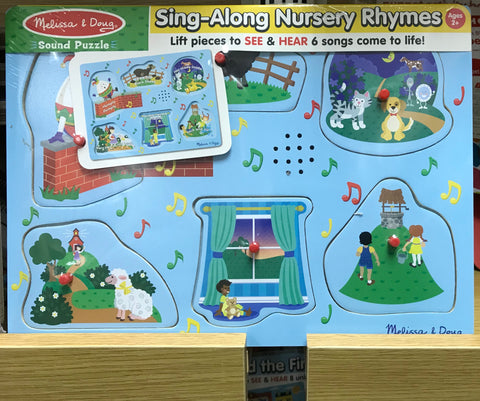 Melissa & Doug HK Sale Nursery Rhymes Sound Puzzle