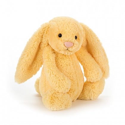 Jellycat HK Sale Bashful Lemon Bunny Small