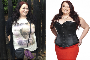 corset diet before and after