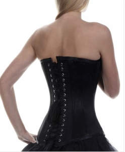ways to lose weight fast a beautiful black corset will help you lose weight quickly and look stylish