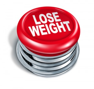 is it time you reduced your calorie intake to lose weight big red button
