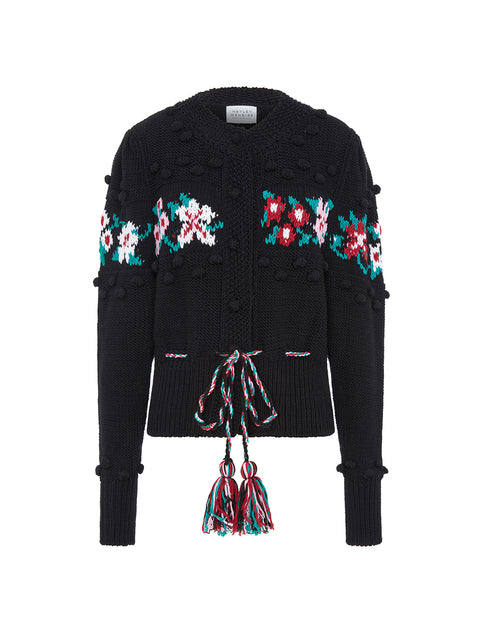 Gladys Cardigan Black