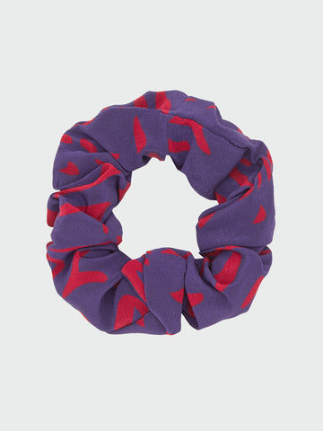 Wings Silk Scrunchie