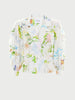 Paradise Found Cotton Broderie Tux Shirt