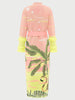 Roaring Tiger Cotton Jacquard Duster Pink/Neon