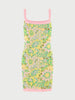 Samui Blooms Jacquard Mini Slip Dress