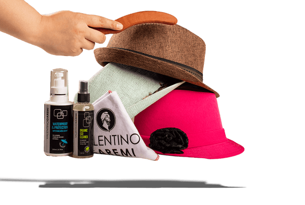 Hat Care Set – Stain Cleaning & Weather Protection by Valentino Garemi - ValentinoGaremi