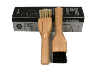 Shoe Cream Applicator Brush Set – Long Body Dauber by Valentino Garemi - ValentinoGaremi