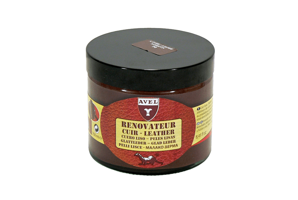 Cream Renovator for Leather Products from Avel - France - ValentinoGaremi