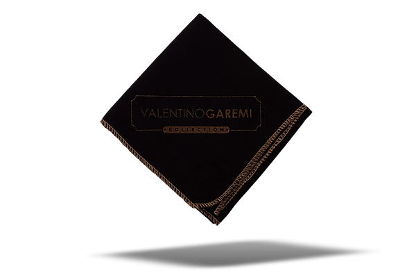 Shoe Polishing & Buffing Cloth – Black Edition by Valentino Garemi - ValentinoGaremi