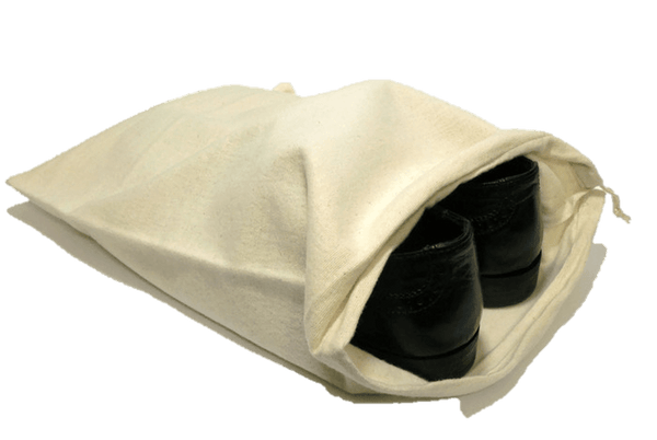 Shoe Storage Bag - Natural Fabric Material by Valentino Garemi - ValentinoGaremi