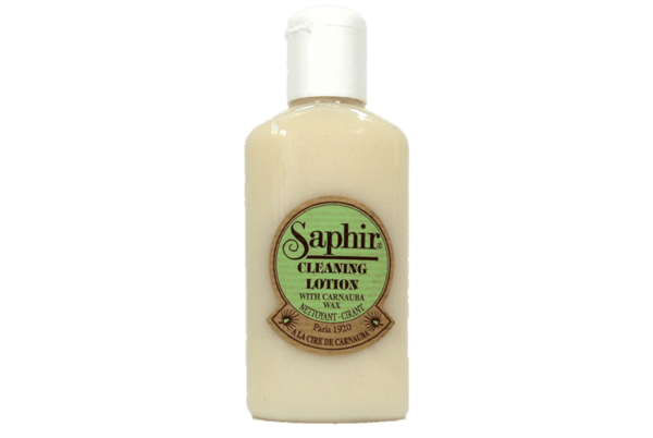 Saphir Leather Cleaner Lotion – Footwear & Garments Cleaning Solution - ValentinoGaremi