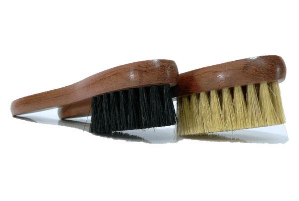 Shoe Polish Applicator Brush - Bubinga Wood & Boar Bristles by Famaco - ValentinoGaremi
