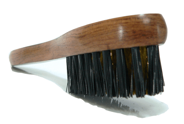 Suede Nubuck Cleaning Brush - Brass Bristles - Bubinga Wood By Famaco - ValentinoGaremi