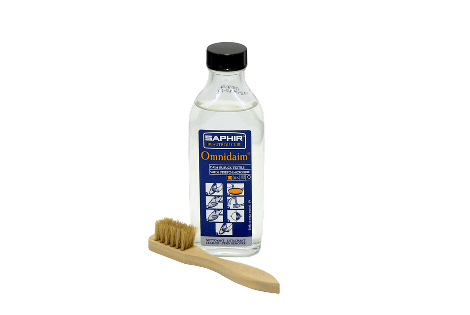 Cleaner for Suede , Nubuck & Textile - Omnidaim by Saphir France - ValentinoGaremi