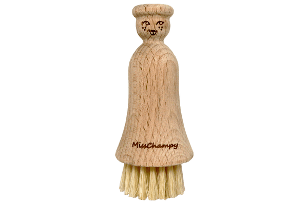 Valentino Garemi Mushroom Brush – Real Wood & Genuine Boar Bristles - ValentinoGaremi