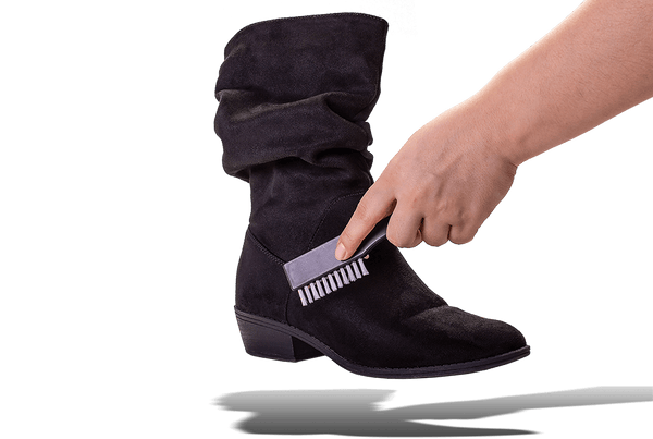 Suede Cleaning Brush with Side Bristles by Valentino Garemi - ValentinoGaremi