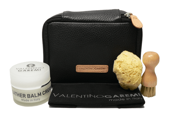 Leather Care Set - Luxury Nourish & Condition Kit by Valentino Garemi - ValentinoGaremi