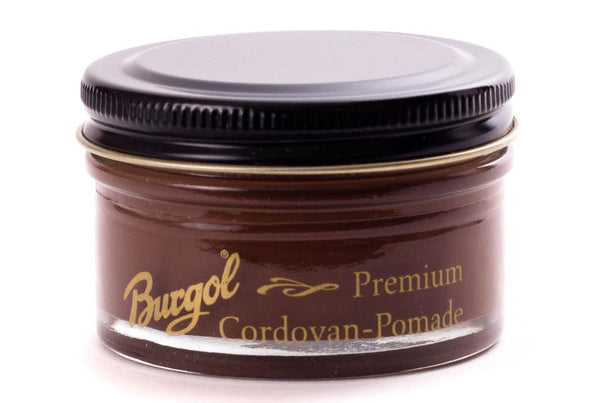 Cordovan Leather Cream Shoe Polish -Pomade Premium by Burgol Germany - ValentinoGaremi