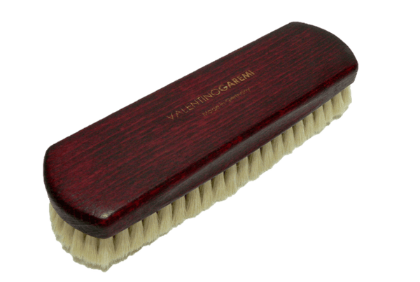 Cleaning Buffing Brush – Genuine Soft Goat Hair by Valentino Garemi - ValentinoGaremi