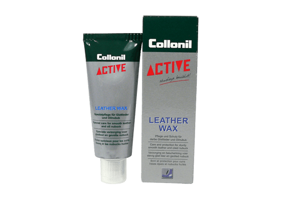 Active Leather Wax – for Smooth Leathers or Oiled Nubuck by Collonil - ValentinoGaremi