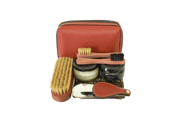 Luxury Shoe Care Set - Clipper from La Cordonnerie Anglaise - Made in France - ValentinoGaremi