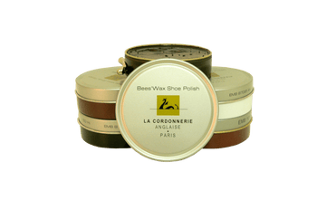 Shoe Polish Paste with Beewax - Luxury Shoe Care by La Cordonnerie Anglaise France - ValentinoGaremi