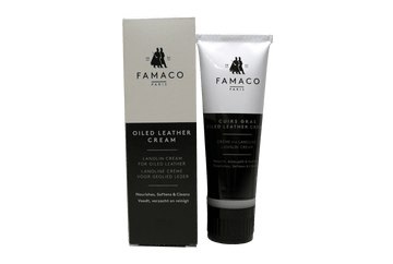 Oiled Leather Cream – Moisture Resistant & Condition by Famaco France - ValentinoGaremi