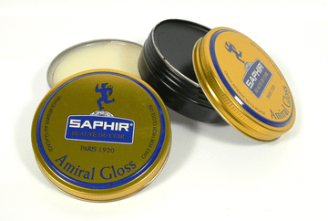 Saphir Amiral Gloss | Superior Leather Shoe Shine Paste by Saphir France - ValentinoGaremi