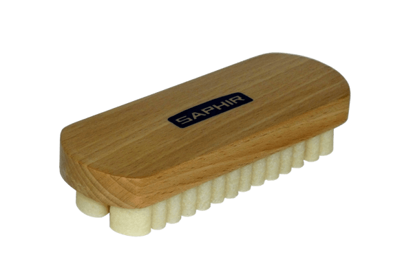 Suede Cleaning Brush - Real Crepe with Hardwood Handle by Saphir France - ValentinoGaremi