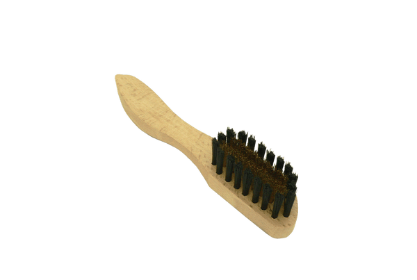 Brush Brass Bristles for Suede Leathers by Saphir - ValentinoGaremi