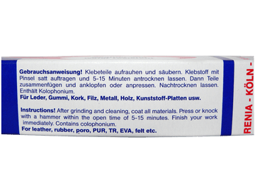 Professional Bonding – Shoe Glue for All Materials by Renia Germany - ValentinoGaremi