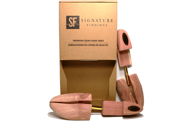 Signature Shoe Tree – Premium Aromatic Red Cedar - ValentinoGaremi