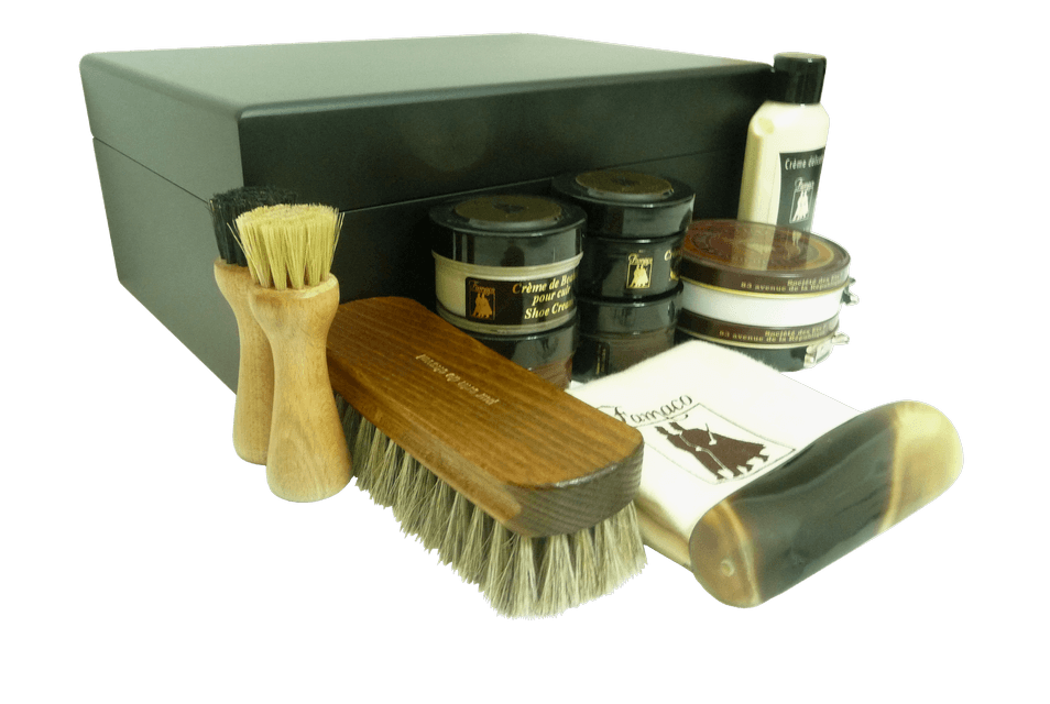 Luxury Shoe Care Kit - Monet Noir by Famaco - ValentinoGaremi