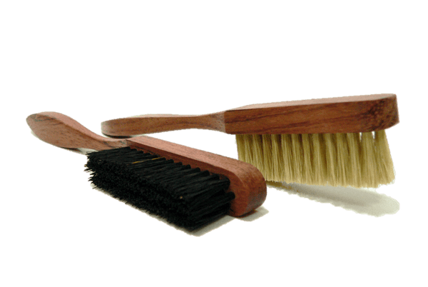 Shoe Edge Cleaning Brush - Bubinga Wood Handle - by Famaco France - ValentinoGaremi
