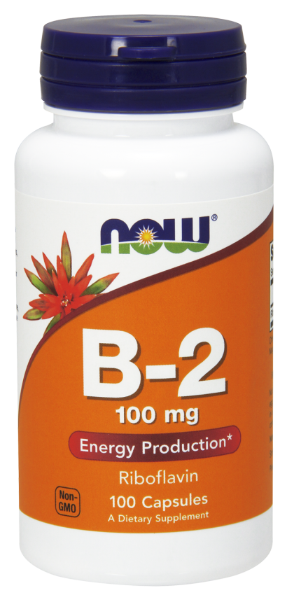 Now vit B 2 100 mg 100 kps