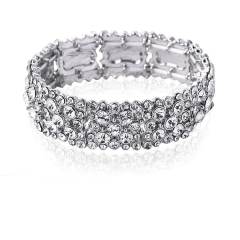 Diamante wedding Bracelets