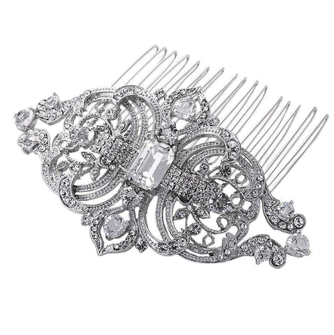 Diamante Wedding Hair Combs - Olivier Laudus