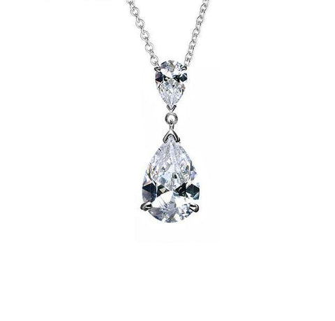 Cubic Zirconia and Diamante wedding Necklaces - Olivier Laudus