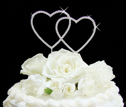 Heart Shaped Wedding Cake Toppers - Olivier Laudus