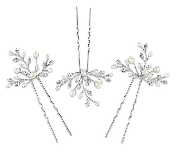 Amelia Wedding hairpins