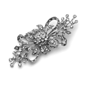 Amalia Diamante Wedding Brooch - Olivier Laudus Wedding Jewellery