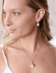 Anais Rose Gold Pearl Pendant Set - Olivier Laudus Wedding Jewellery
