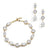 Ariana Gold Bracelet and Earrings Set - Olivier Laudus Wedding Jewellery